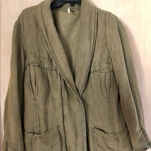 Free People green army/utility jacket